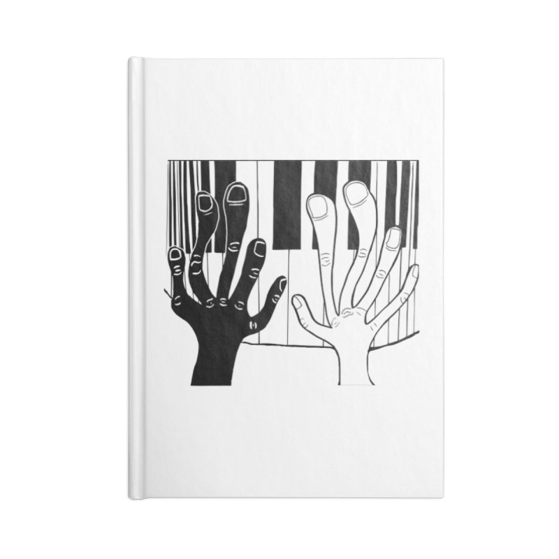 Racial Harmony  Accessories Lined Journal Notebook by Sam Shain's Artist Shop
