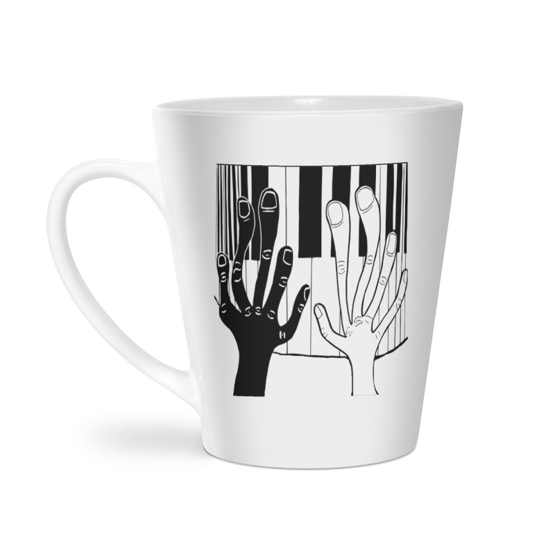 Racial Harmony  Accessories Latte Mug by Sam Shain's Artist Shop
