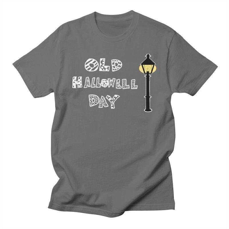 Old Hallowell Day Men's T-Shirt by Sam Shain's Artist Shop