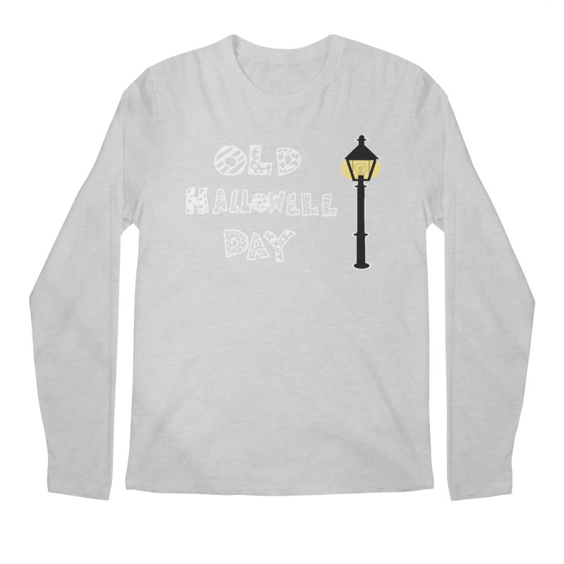 Old Hallowell Day Men's Regular Longsleeve T-Shirt by Sam Shain's Artist Shop