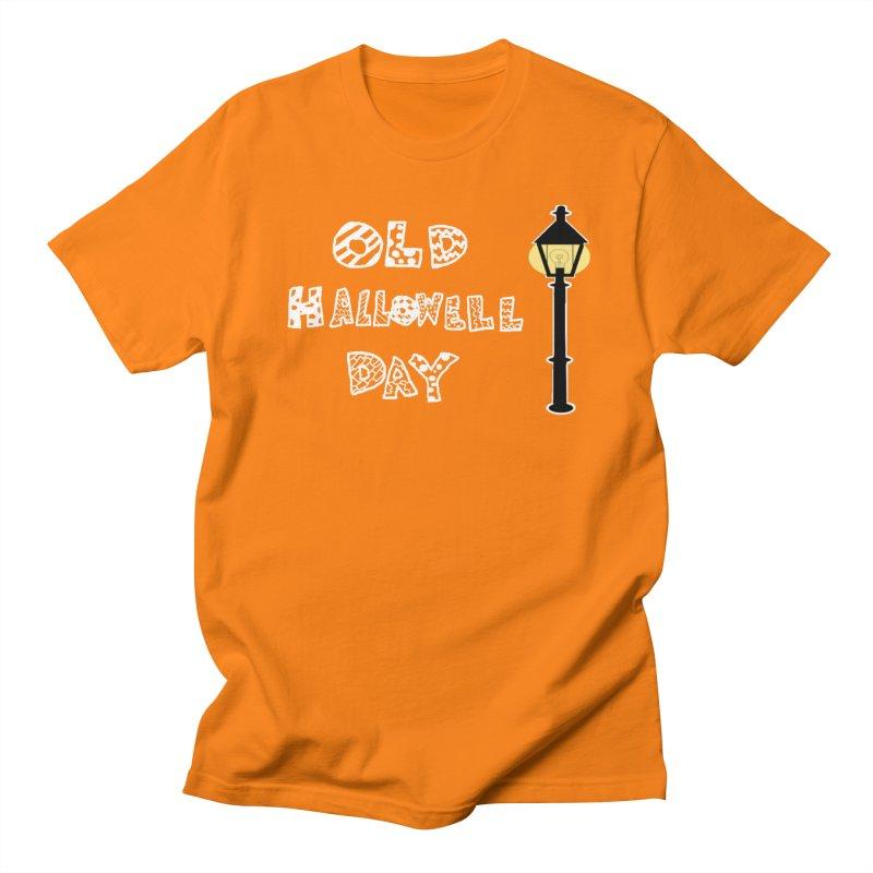 Old Hallowell Day Women's Regular Unisex T-Shirt by Sam Shain's Artist Shop