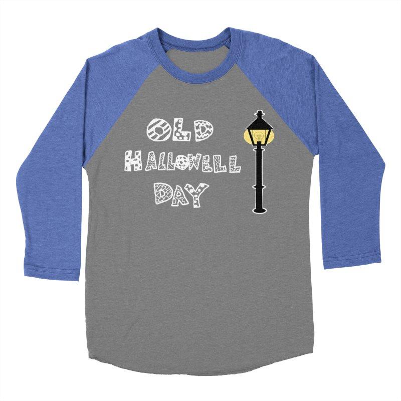 Old Hallowell Day Women's Baseball Triblend Longsleeve T-Shirt by Sam Shain's Artist Shop