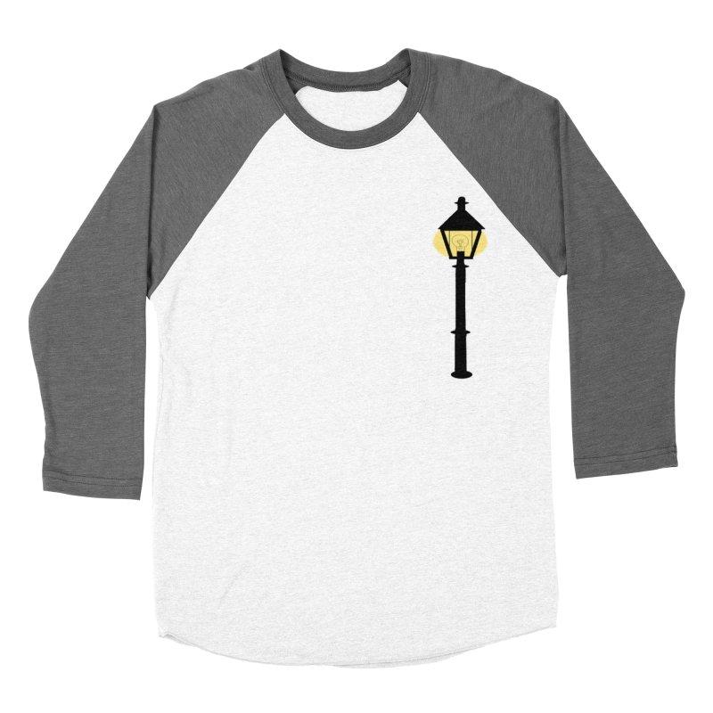 Old Hallowell Day Men's Baseball Triblend Longsleeve T-Shirt by Sam Shain's Artist Shop