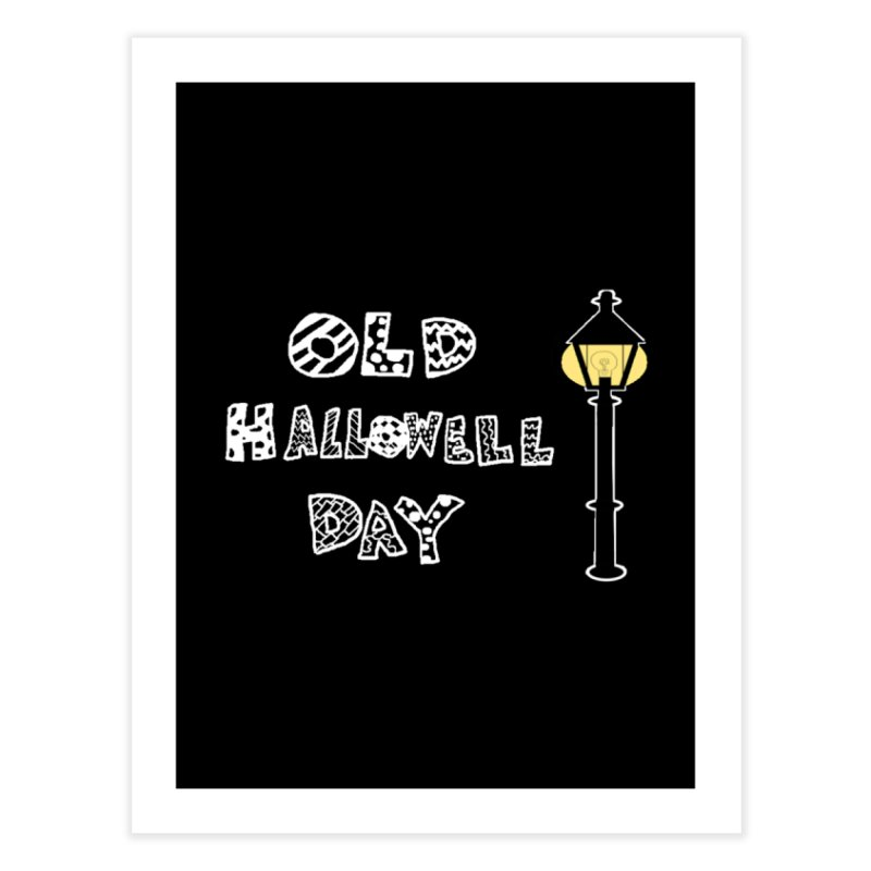 Old Hallowell Day Home Fine Art Print by Sam Shain's Artist Shop