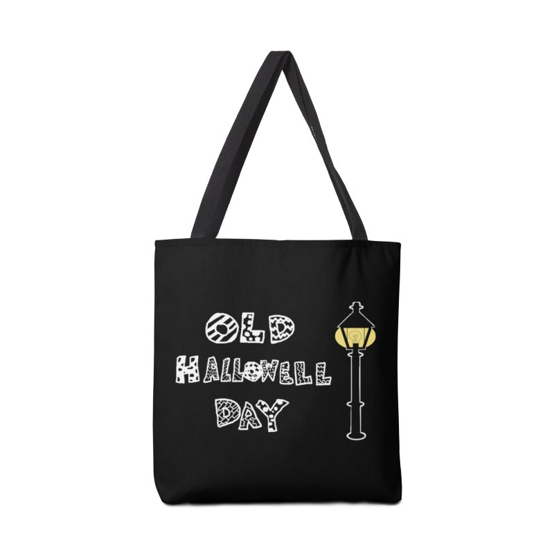 Old Hallowell Day Accessories Tote Bag Bag by Sam Shain's Artist Shop