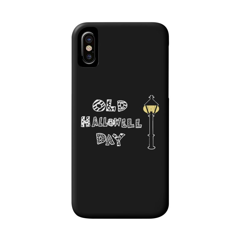 Old Hallowell Day Accessories Phone Case by Sam Shain's Artist Shop