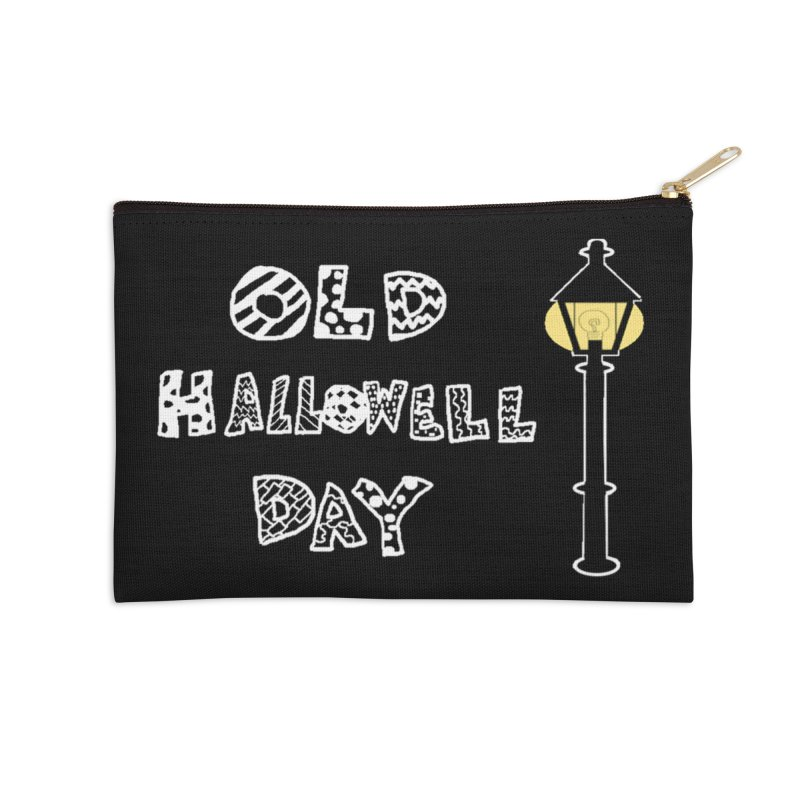 Old Hallowell Day Accessories Zip Pouch by Sam Shain's Artist Shop