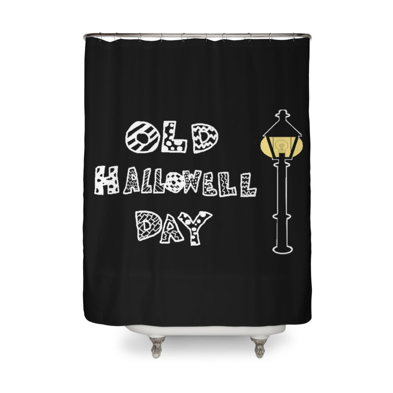 Old Hallowell Day Home Shower Curtain by Sam Shain's Artist Shop