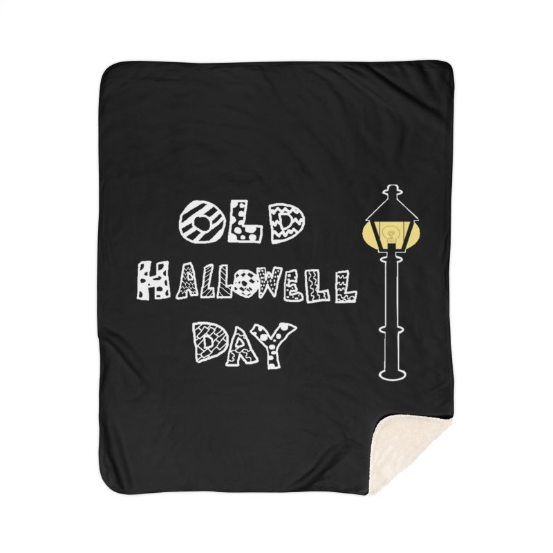 Old Hallowell Day Home Sherpa Blanket Blanket by Sam Shain's Artist Shop