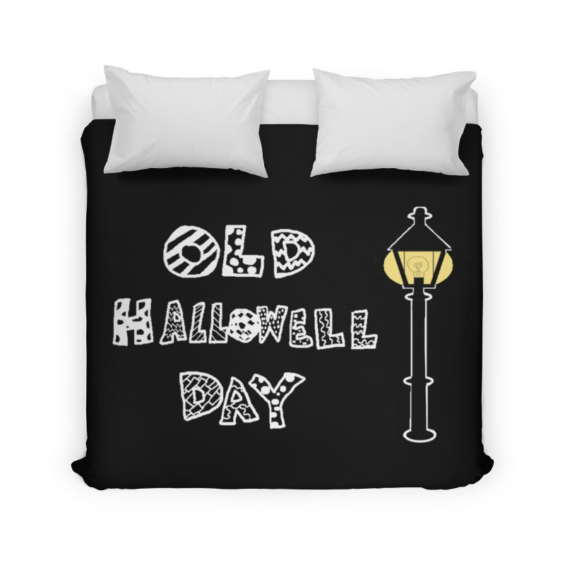 Old Hallowell Day Home Duvet by Sam Shain's Artist Shop