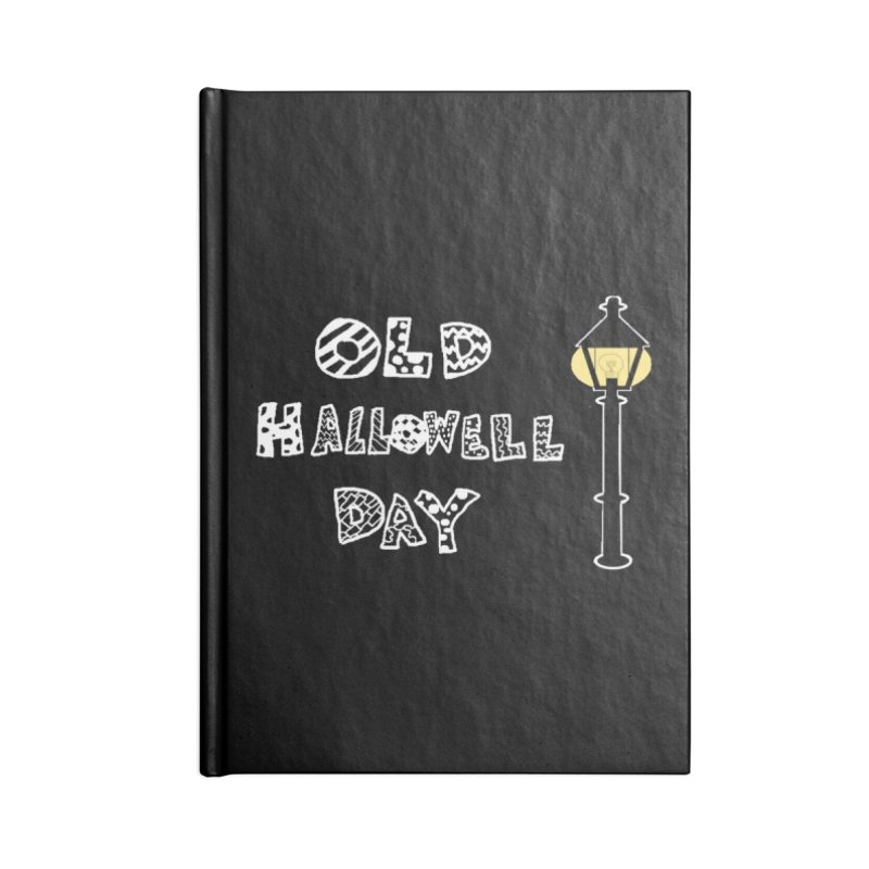 Old Hallowell Day Accessories Lined Journal Notebook by Sam Shain's Artist Shop