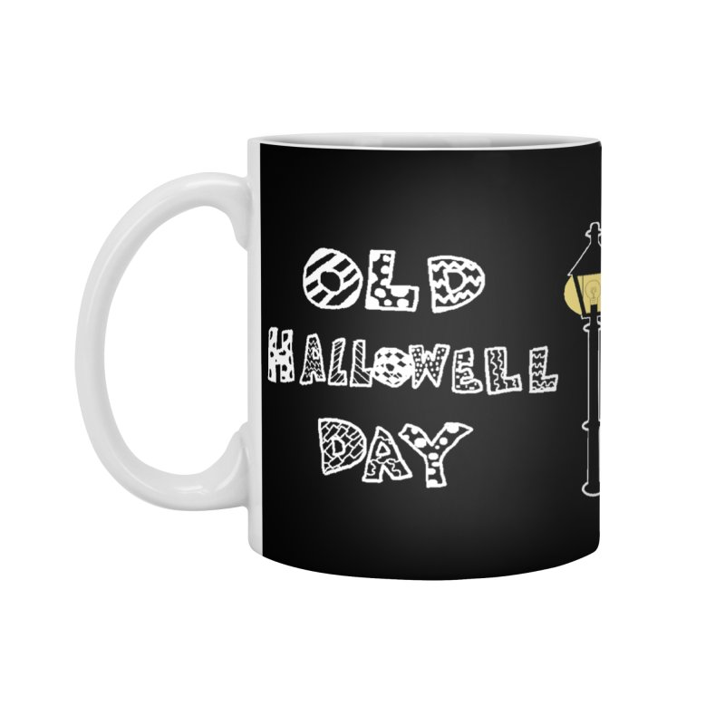 Old Hallowell Day Accessories Standard Mug by Sam Shain's Artist Shop