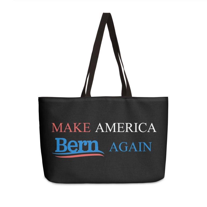 Make America Bern Again Accessories Weekender Bag Bag by Sam Shain's Artist Shop