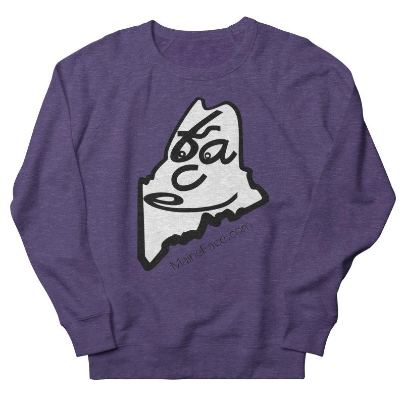 MaineFace.Com Women's French Terry Sweatshirt by Sam Shain's Artist Shop