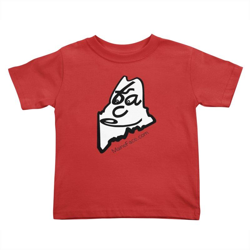 MaineFace.Com Kids Toddler T-Shirt by Sam Shain's Artist Shop
