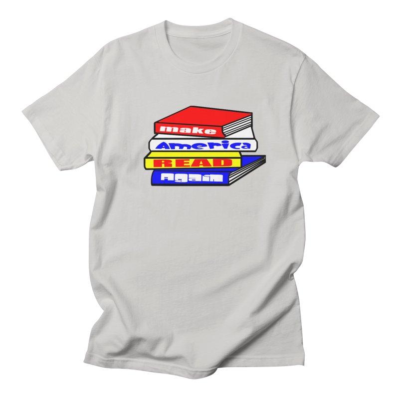 Make America Read Again Men's Regular T-Shirt by Sam Shain's Artist Shop