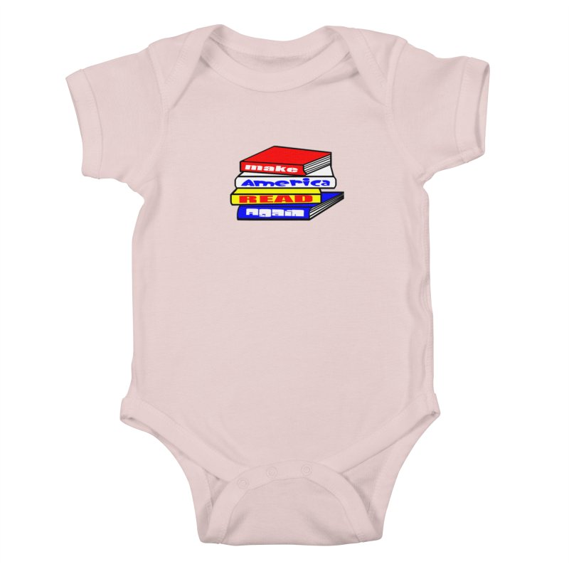 Make America Read Again Kids Baby Bodysuit by Sam Shain's Artist Shop
