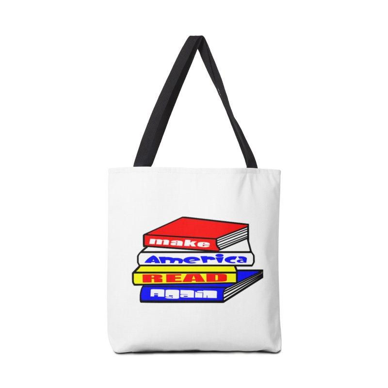 Make America Read Again Accessories Bag by Sam Shain's Artist Shop