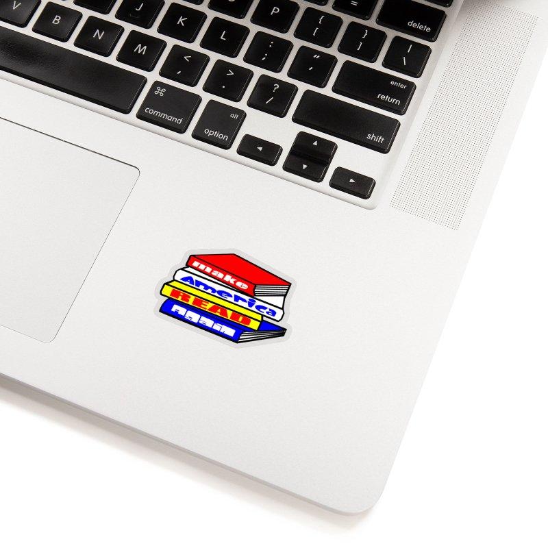 Make America Read Again Accessories Sticker by Sam Shain's Artist Shop