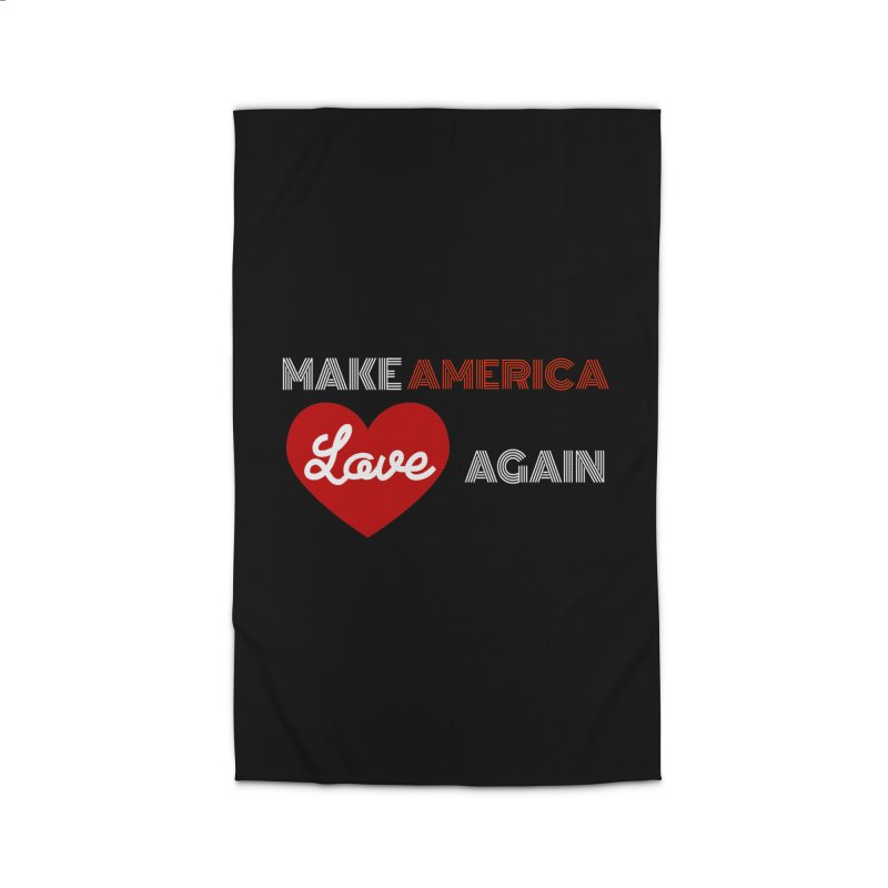 Make America Love Again Home Rug by Sam Shain's Artist Shop