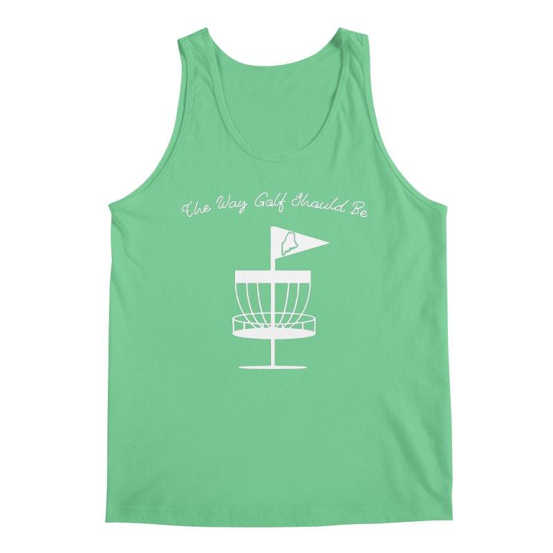 The Way Golf Should Be Men's Regular Tank by Sam Shain's Artist Shop