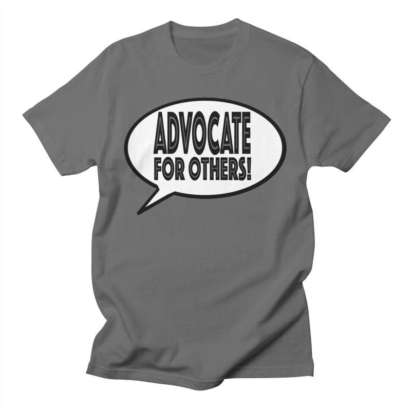 Advocate Men's T-Shirt by Sam Shain's Artist Shop