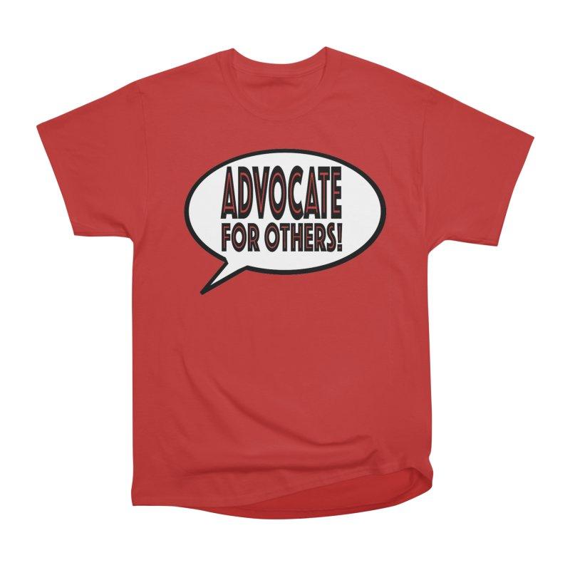 Advocate Men's Heavyweight T-Shirt by Sam Shain's Artist Shop