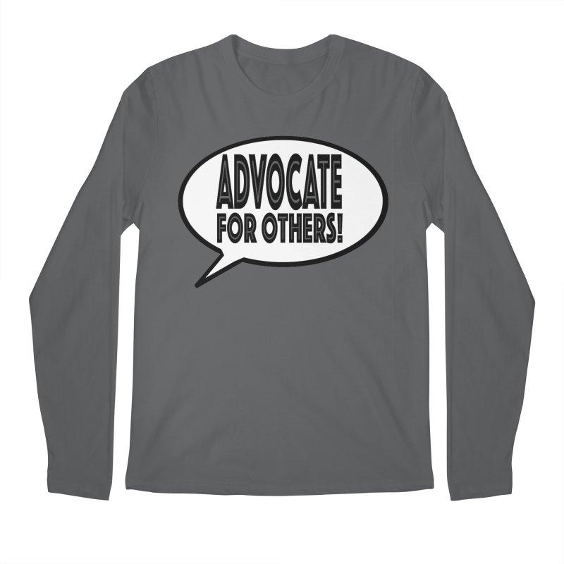 Advocate Men's Regular Longsleeve T-Shirt by Sam Shain's Artist Shop