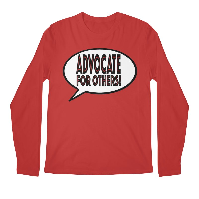Advocate Men's Regular Longsleeve T-Shirt by Sam Shain's Artist Shop