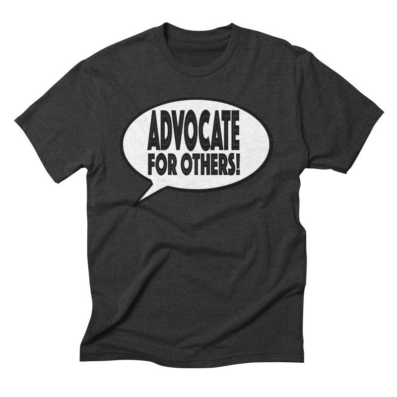 Advocate Men's Triblend T-Shirt by Sam Shain's Artist Shop