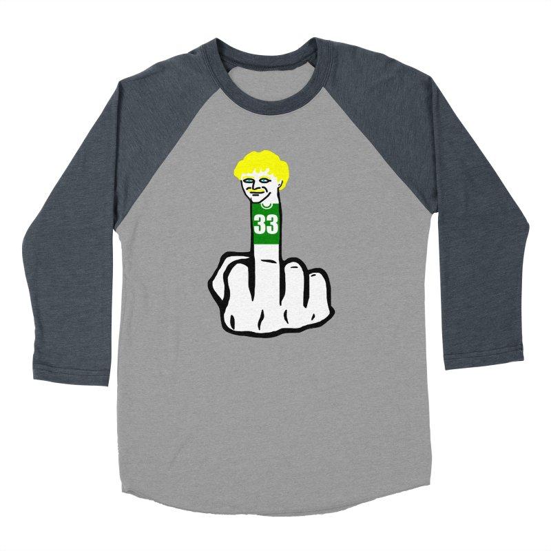 The Bird Men's Baseball Triblend Longsleeve T-Shirt by Sam Shain's Artist Shop