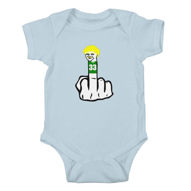 The Bird Kids Baby Bodysuit by Sam Shain's Artist Shop