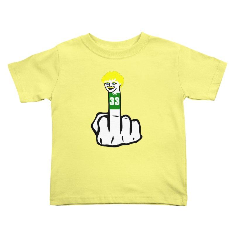 The Bird Kids Toddler T-Shirt by Sam Shain's Artist Shop