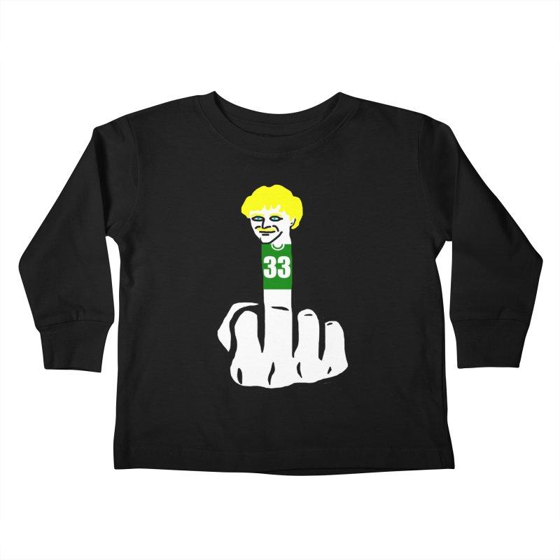 The Bird Kids Toddler Longsleeve T-Shirt by Sam Shain's Artist Shop