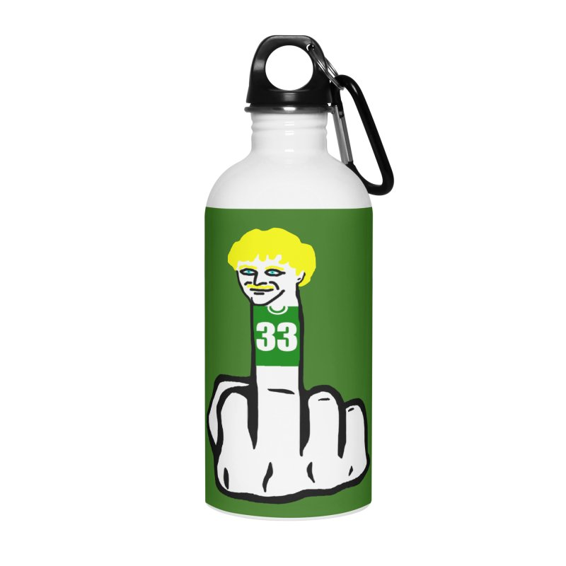 The Bird Accessories Water Bottle by Sam Shain's Artist Shop