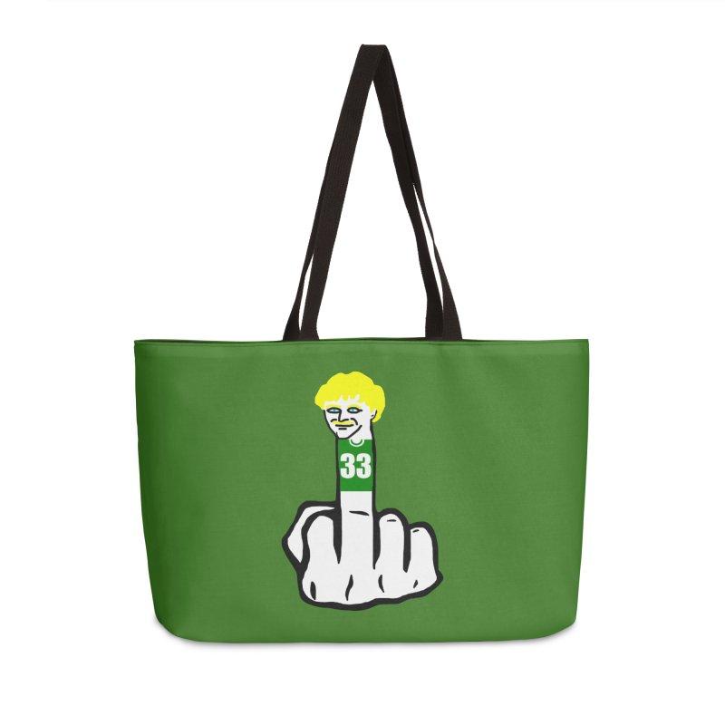 The Bird Accessories Weekender Bag Bag by Sam Shain's Artist Shop