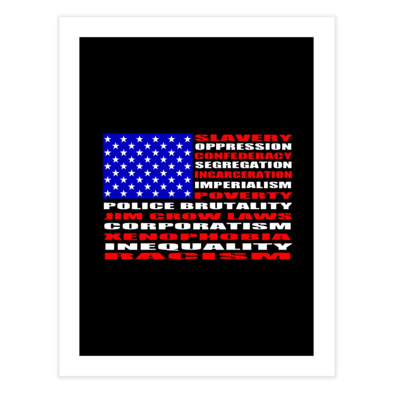 Land of the Free Home Fine Art Print by Sam Shain's Artist Shop