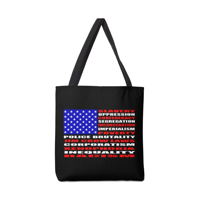Land of the Free Accessories Tote Bag Bag by Sam Shain's Artist Shop