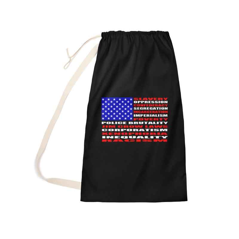 Land of the Free Accessories Bag by Sam Shain's Artist Shop