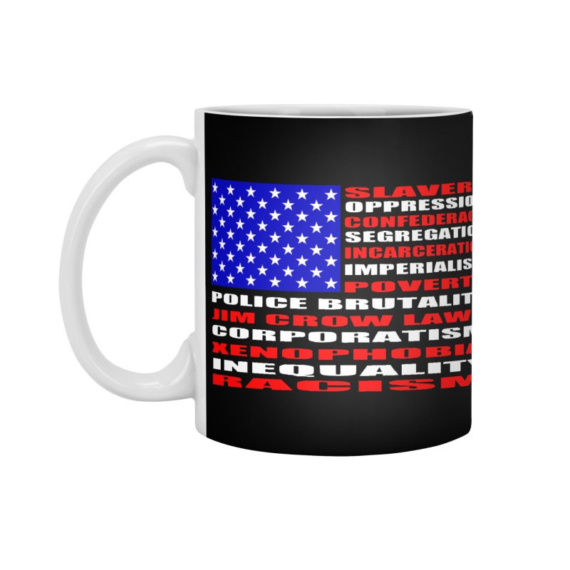Land of the Free Accessories Standard Mug by Sam Shain's Artist Shop