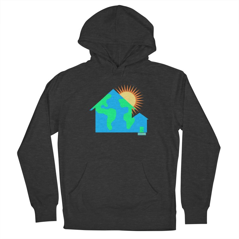 Home Women's French Terry Pullover Hoody by Sam Shain's Artist Shop