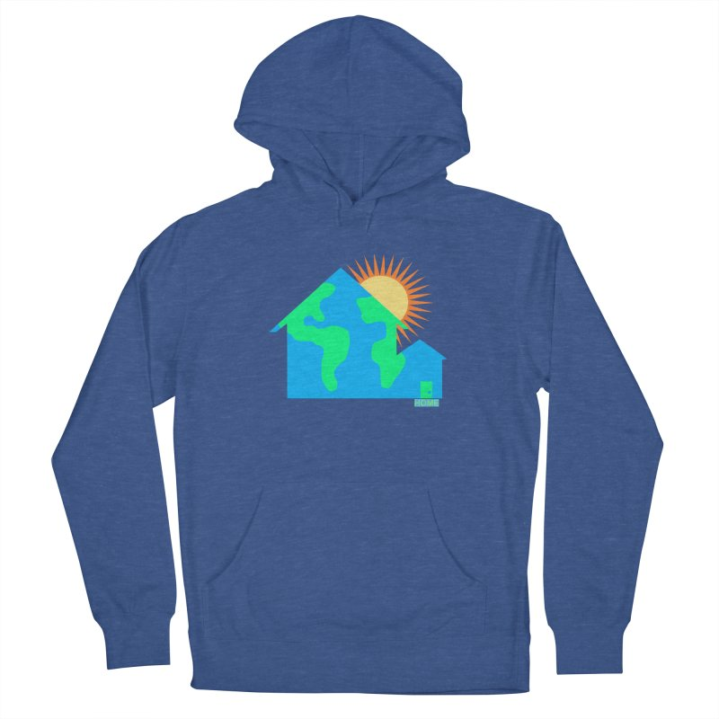 Home Men's French Terry Pullover Hoody by Sam Shain's Artist Shop