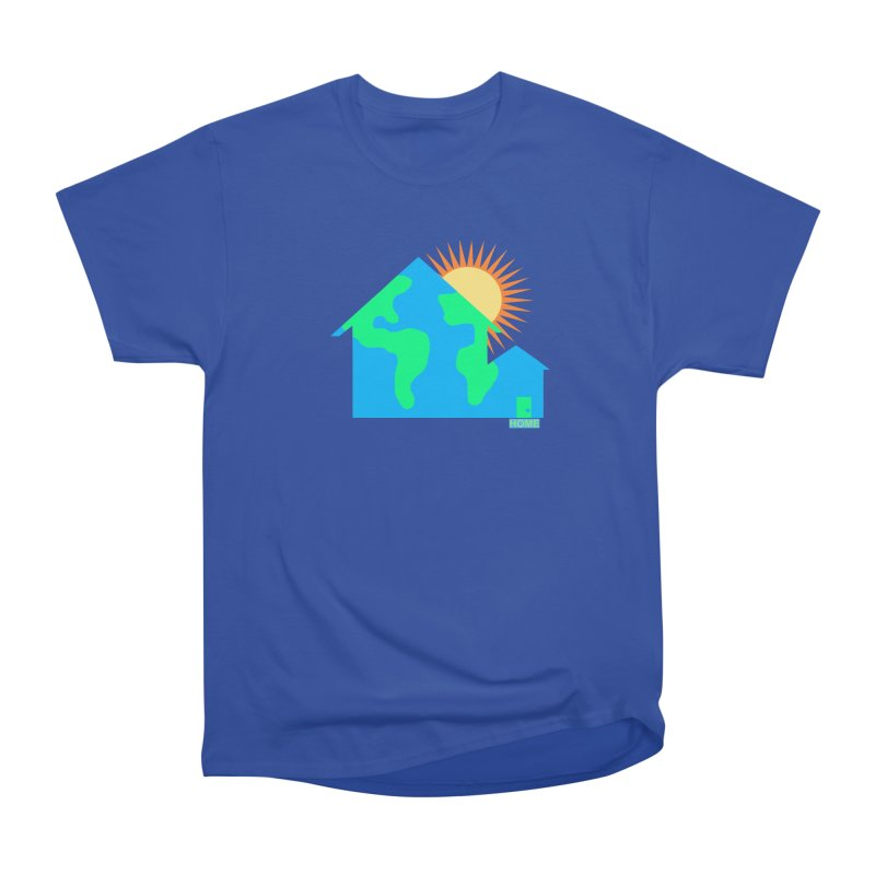 Home Men's Heavyweight T-Shirt by Sam Shain's Artist Shop