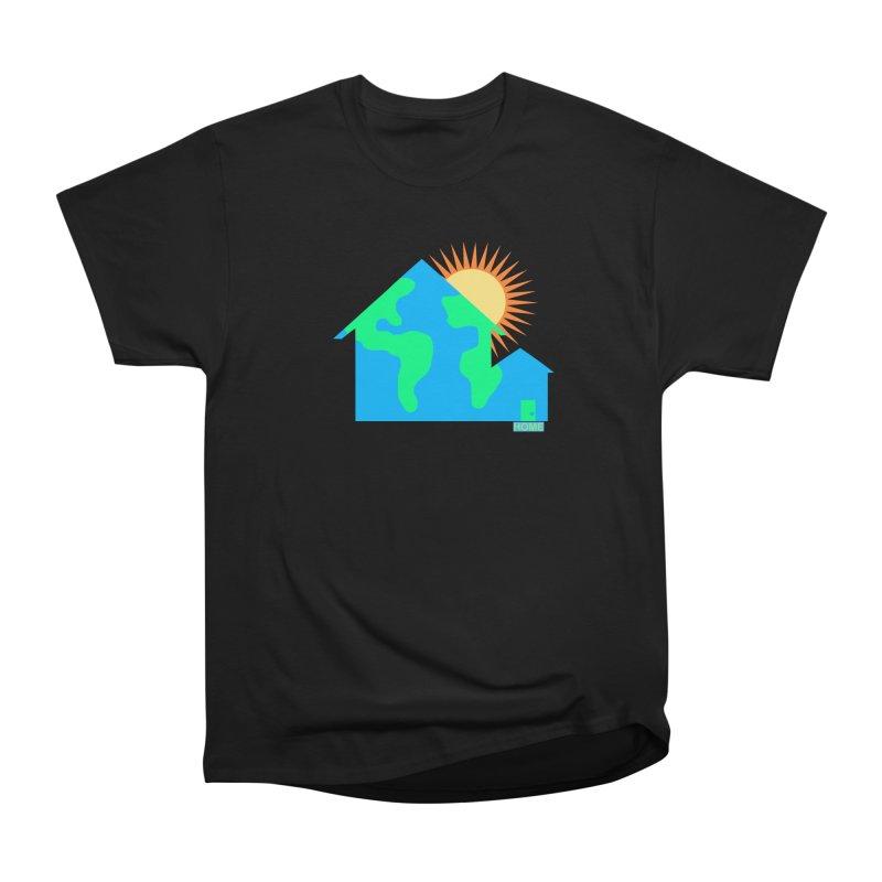 Home Women's Heavyweight Unisex T-Shirt by Sam Shain's Artist Shop
