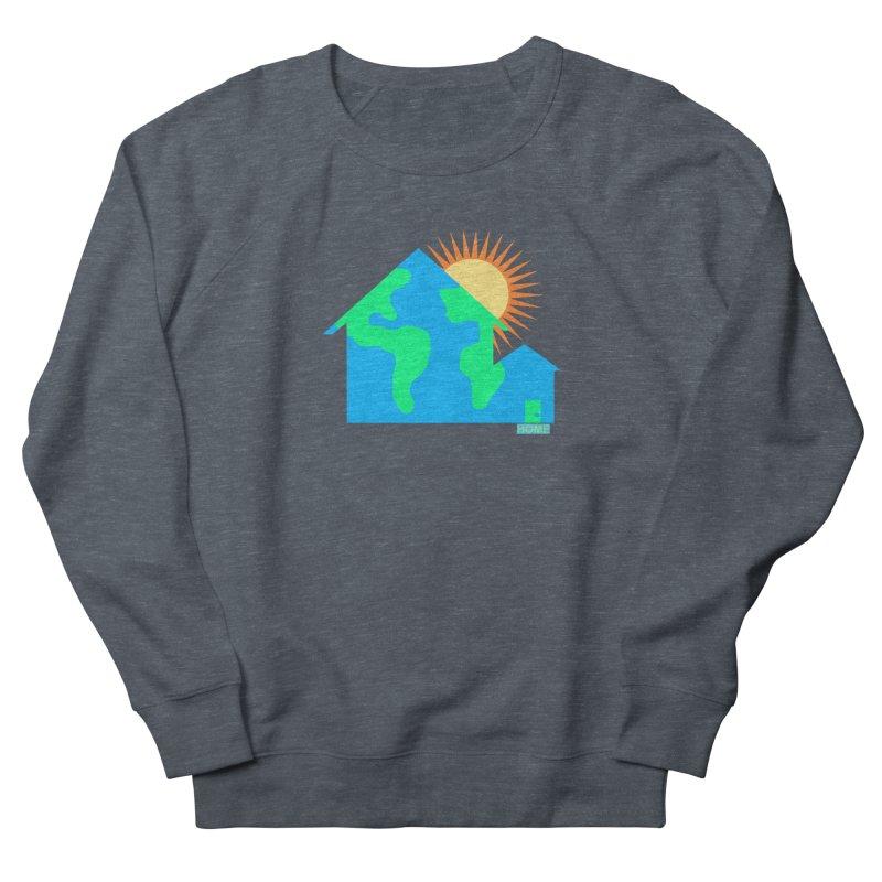 Home Men's French Terry Sweatshirt by Sam Shain's Artist Shop