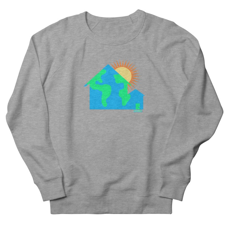 Home Men's French Terry Sweatshirt by Sam Shain's Artist Shop