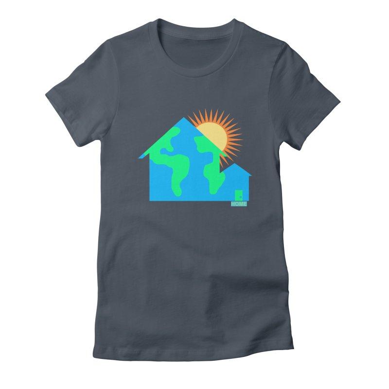 Home Women's T-Shirt by Sam Shain's Artist Shop