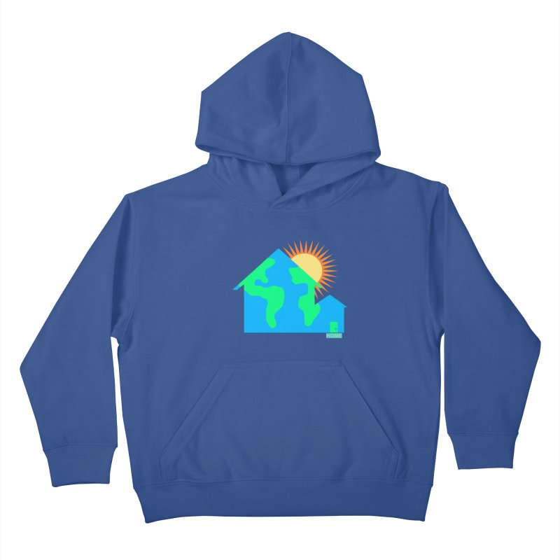 Home Kids Pullover Hoody by Sam Shain's Artist Shop