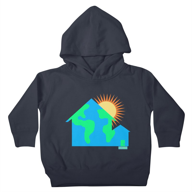 Home Kids Toddler Pullover Hoody by Sam Shain's Artist Shop