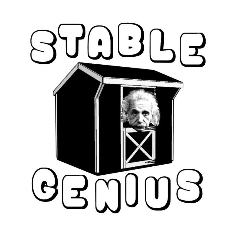 Stable Genius Home Shower Curtain by Sam Shain's Artist Shop